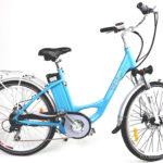 E-bike bikee Wellness - Sonderfarbe himmelblau