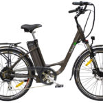 E-bike bikee Wellness in anthrazitgrau